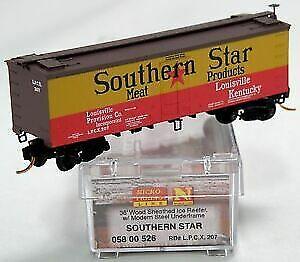 Micro-Trains 05800526 N Southern Star 36' Wood Sheathed Reefer #207 LN/Box