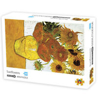 Sunflower Adult Kids Jigsaw Puzzle Decor Mural Educational Toy Game 1000Piece