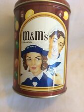 Vtg M& M Candies Tin