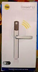 Yale Conexis L1 Smart Lock Handle Polished Chrome