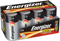 8 Count D Cell Batteries, Max Alkaline D Battery Size Battery Electronics