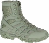 """MERRELL Moab 2 8"""" Waterproof J17711 Tactical Military Army Combat Boots Mens"""