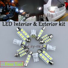 Premium White Lights SMD Interior LED Package Kit For Nissan Altima 1998-2001