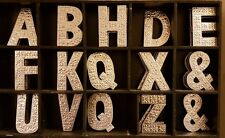silver letters Wall Alphabet Letters Names Signs Wedding Gift Wall Hanging Metal