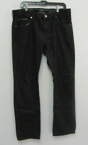 ARMANI COLLEZIONI Men's Black Jeans Size 36