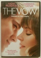 THE VOW (DVD, 2012, True) *Rachel McAdams - Channing Tatum* SHIPS FAST Mon-Sat!