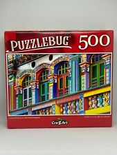 PUZZLEBUG Colorful Building in Little India, Singapore 500 Piece Puzzle