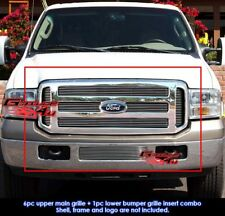Fits 2005-2007 Ford F-250/F-350 Super Duty Billet Grille Combo