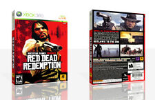 Red Dead Redemption Xbox 360 Replacement Game Case Box + Cover Art Work No Game