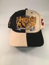 Austria Baseball Syte Cap Checkerboard Black And Beige