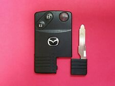 OEM Mazda Smart Card Key Remote 3B BGBX1T458SKE11A01 Key with Chip