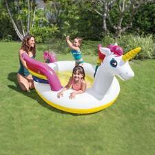 Piscina gonfiabile Intex 57441 fuori terra Unicorno bambini baby spruzzino Rotex