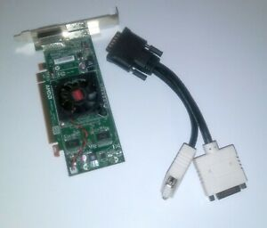 AMD Radeon HD 6350 512MB DDR3 PCI Express x16 Graphic Card Dual Monitor Cable