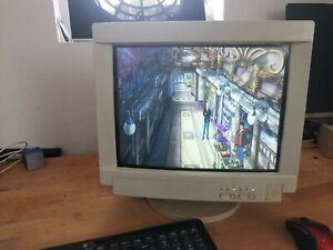 "15"" MAG DX15F CRT VGA Röhrenmonitor Retro Gaming   Monitor"