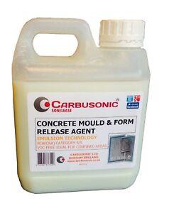 Concrete Mould Release Agent 500 ml garden ornament mouldings safe