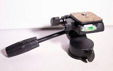 QUICK RELEASE  PAN TILT camera TRIPOD HEAD