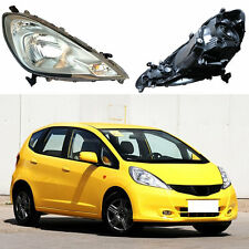 For Honda Fit Base'Hybrid'Twist 2011-2013 Assembly Headlight OEM Set Black Cover