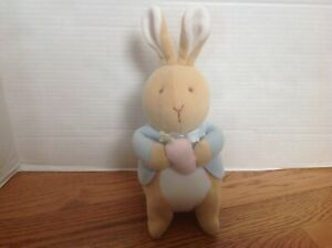 Eden My First PETER RABBIT Plush Velour Pastel Baby Plush CLEAN & Darling!