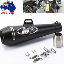 Universal Motorcycle  Motorbike Exhaust Tail Pipe Muffler Tailpipe Tip 51mm M4