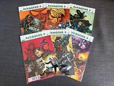 New listing Ultimate Avengers 2 Set 1 2 3 4 5 6 Marvel 2010 Mark Millar Captain America Hulk