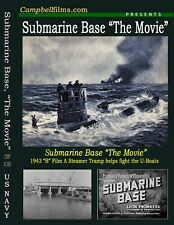 "Submarine Base ""The Movie"" old Films U-boats Atlantic War WW2 Stories & Newsreel"