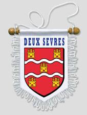 FANION VOITURE 13 X 15 CM DEUX SEVRES (79)