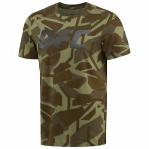 Reebok Official UFC Ultimate Fan Graphic Men Combat T-Shirt NEW (All Sizes)