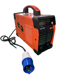 UPTIME® 180AMP MMA/ARC DC INVERTER WELDER WITH LED DISPLAY + ACCESSORIES-180AMP