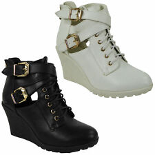 Mid Heel (1.5-3 in.) Wedge Synthetic Boots for Women