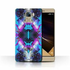 Étuis, housses et coques bleus brillants pour téléphone mobile et assistant personnel (PDA) Huawei