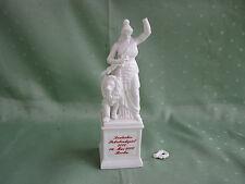Nymphenburg Bella figura di donna con Leone sul pianerottolo