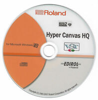 Roland Edirol Hyper Canvas HQ Virtual Software VST Synth Plug-in Bundle Windows