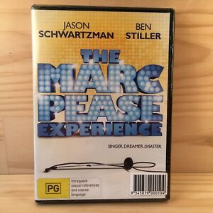 THE MARC PEASE EXPERIENCE Comedy DVD Movie (R4) 2009 **NEW**