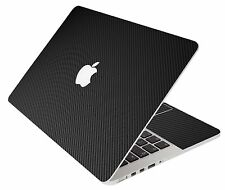 LidStyles BLACK CARBON FIBER Vinyl Laptop Skin Decal MacBook Pro 15 Retina A1398