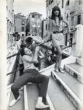 IF IT'S TUESDAY, THIS MUST BE BELGIUM 1969 Elsa Martinelli Sid Caesar VENICE