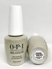 Opi Gelcolor Soak-off Nail Polish Muse Of Milan Fall '20 Collection - Choose Any