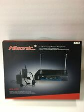 Hisonic Wireless Professional Microphones and Receiver Model HD-596
