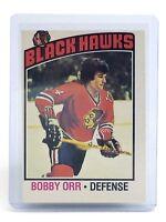 1976-77 Bobby Orr #213 Defense Boston Bruins O-Pee-Chee Hockey Card I029