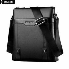 Shoulder Bags For Male Business Man Bag PU Leather Men Messenger Bags Black