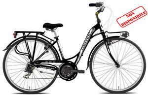 Bici Torpado DONNA CITY BIKE PARTNER T436 camb. Shimano TX35 21V NERA ALLUMINIO