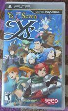 YS Seven / YS 7 - Sony PSP - Falcom XSEED