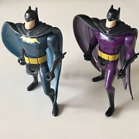 "Vintage Kenner 1998 Batman Animated Series Batman 5"" Action Figures Lot"