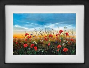 Kimberley Harris - Poppy Love (Framed) - In Stock