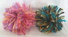 Handmade Yarn Puff Catnip Toys