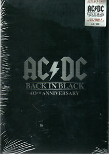 AC/DC - BACK IN BLACK 40th ANNIVERSARY - 4CD+2DVD BOX-SET - SEALED
