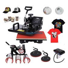 "8 In 1 Heat Press 15"" x 12"" T-Shirt Mug Plate Hat Transfer Sublimation Machine"