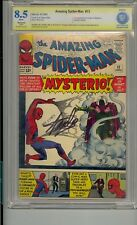 Amazing Spider-Man #13 CBCS 8.5 Ss Firmado Stan Lee 1ST Mysterio No Cgc Pgx