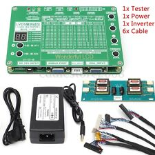 "LCD LED Panel Tester TV Laptop Display Repair Tool Support 7"" - 84"" LVDS Screen"