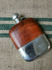 More details for a large silver plated hip flask by james dixon
