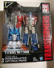 Titans Return 2015 Powermaster Optimus Prime with Apex MISP Leader Class